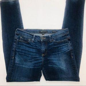 BKE Women's Addison Skinny Jeans 27R Dark Wash